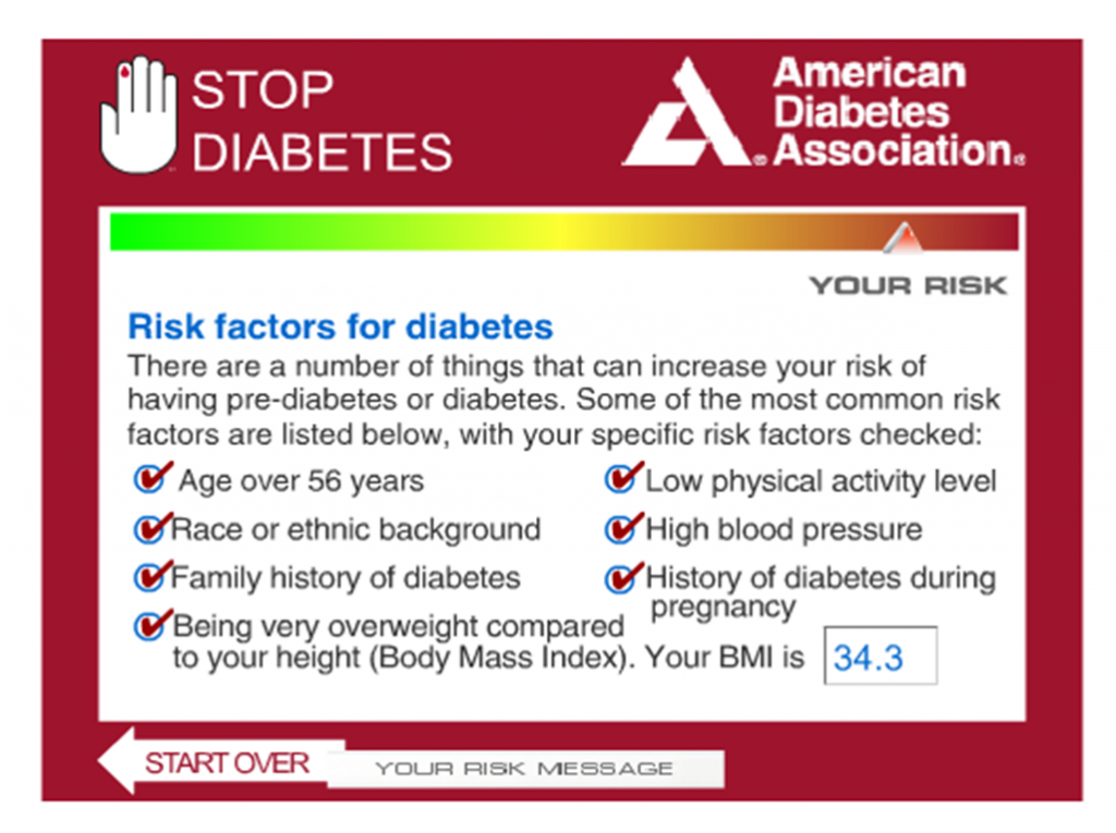 Am I at Risk? « Families Against Diabetes